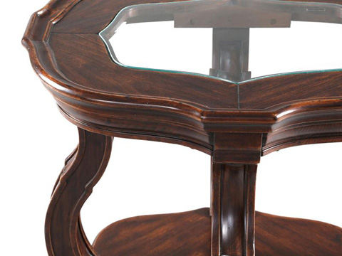 Magnussen Home - Oval End Table - T2538-07