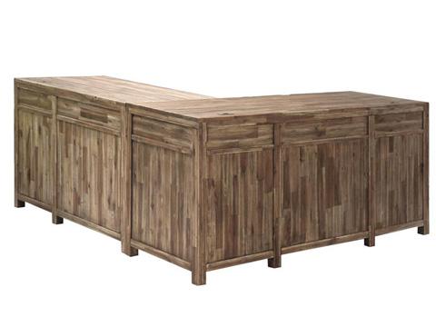 Magnussen Home - L-Desk - H2596-04