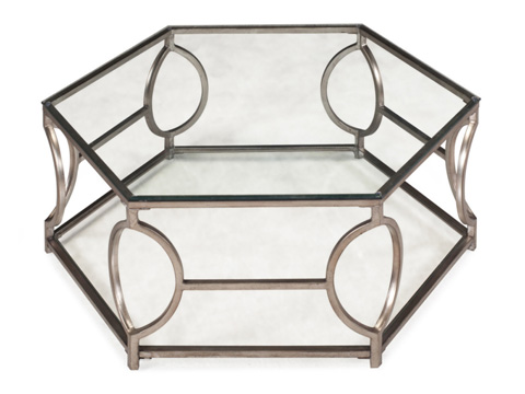 Magnussen Home - Hexagonal Cocktail Table - T2060-48