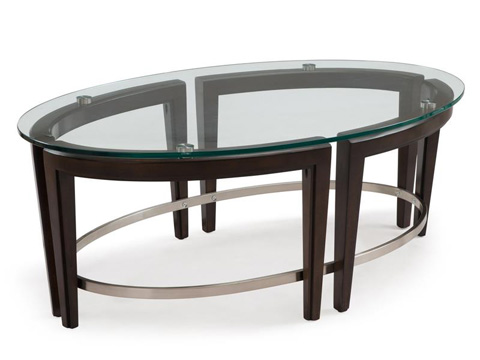 Magnussen Home - Oval Cocktail Table - T3110-47
