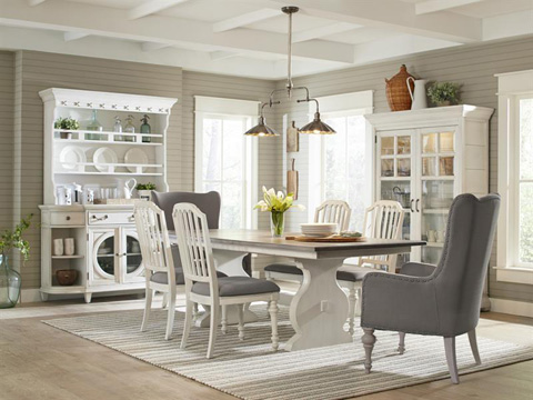 Magnussen Home - Small Rectangular Dining Table - D3681-20