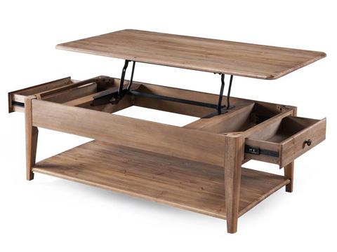 Magnussen Home - Rectangular Lift - Top Cocktail Table - T3749-51