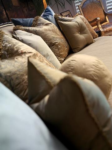 Marge Carson - Camila Wave Back Sofa - CAM43