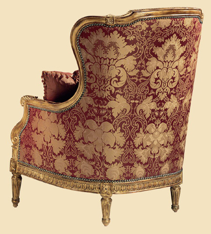 Marge Carson - Madeleine Wing Chair - ME41