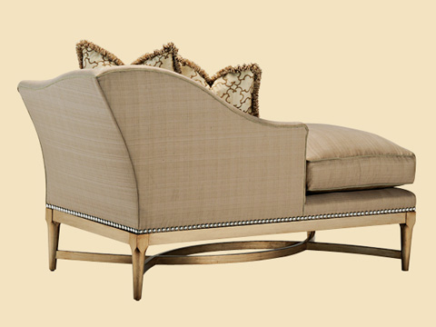 Marge Carson - Left Arm Facing Chaise - TAN44