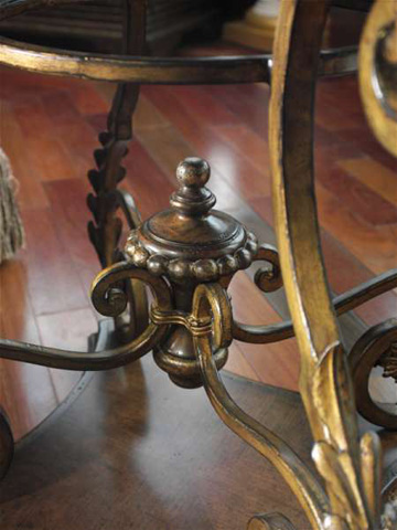 Marge Carson - Round End Table - SEV04-1