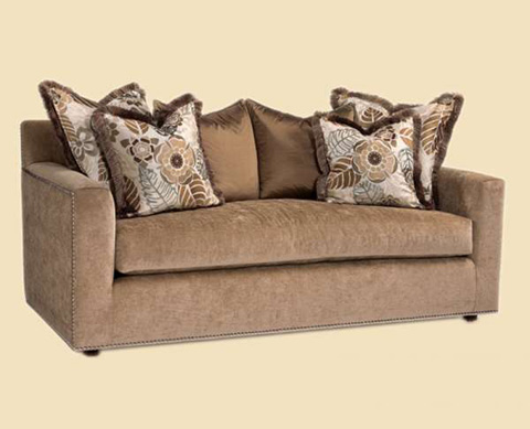 Marge Carson - Track Arm Sofa - STB43-78
