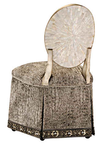 Marge Carson - Ophelia Vanity Chair - OPH41