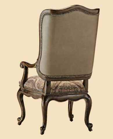 Marge Carson - Upholstered Wing Arm Chair - RVL46