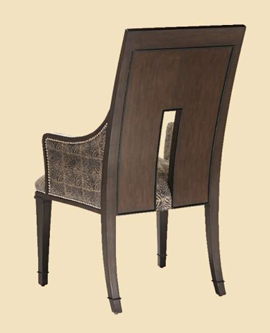 Marge Carson - Upholstered Arm Chair - SNA46