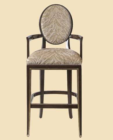 Marge Carson - Oval Back Barstool - SNA47-29