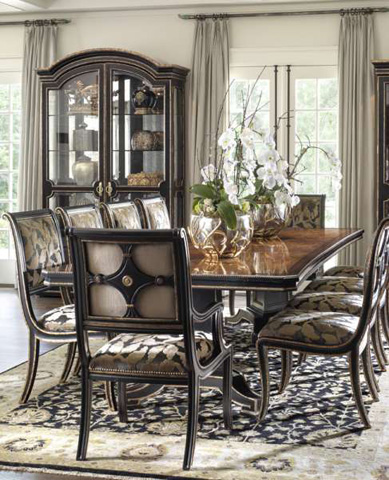 Marge Carson - Ionia Rectangular Dining Table - ION21