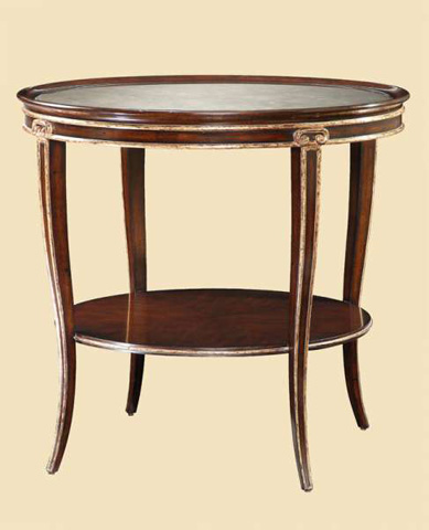 Marge Carson - Ionia Round End Table - ION04