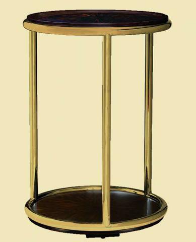 Marge Carson - Malibu Chairside Table - MLB30-1