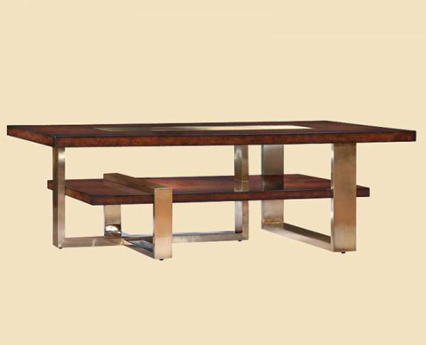 Marge Carson - Lake Shore Drive Cocktail Table - LDR01-1