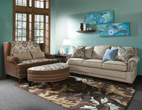 Marshfield Furniture - Ottoman - 1990-09