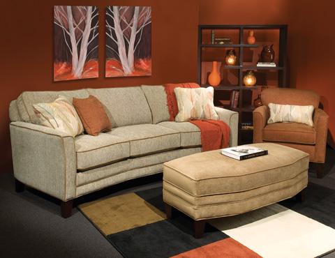 Marshfield Furniture - Conversation Sofa - 1999-37