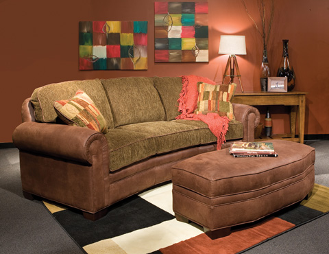Marshfield Furniture - Chair and a Half - 2476-08