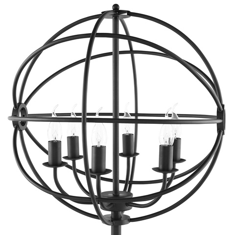 Modway Furniture - Atom Table Lamp in Black - EEI-1551