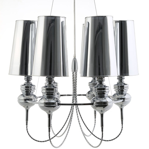 Modway Furniture - Tapestry Stainless Steel Chandelier in Silver - EEI-1555