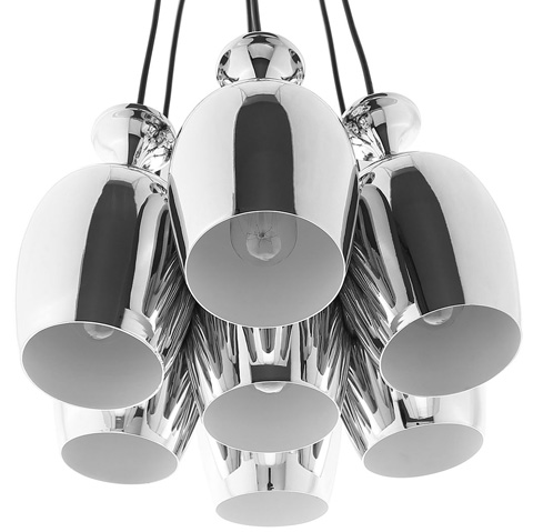 Modway Furniture - Goodwill Metal Chandelier in Silver - EEI-1585