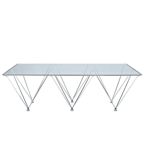 Modway Furniture - Prism Rectangle Coffee Table in Clear - EEI-260