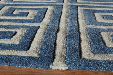 Momeni - Bliss Rug in Denim - BS-14 DENIM