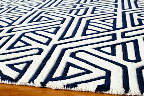 Momeni - Delhi Rug in Navy - DL-51 NAVY