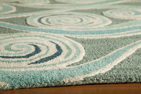 Momeni - Dunes Rug in Light Blue - DUN-08 L.BLUE