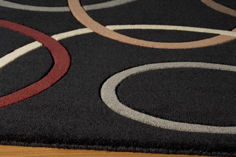 Momeni - Elements Rug in Black - EL-09 BLACK