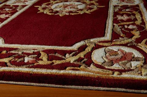 Momeni - Harmony Rug in Burgundy - HA-12 BURGUNDY