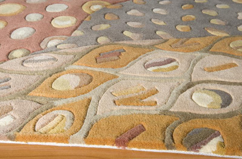 Momeni - New Wave Rug in Natural - NW-071 NATURAL