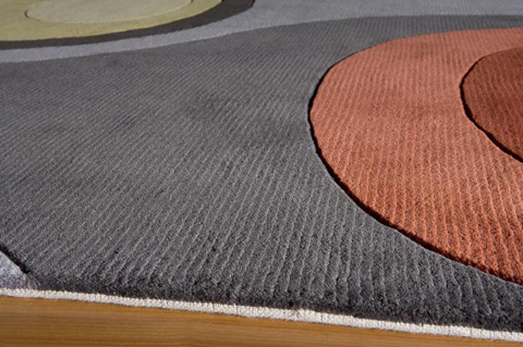 Momeni - New Wave Rug in Steel - NW129 STEEL