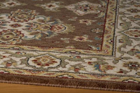 Momeni - Persian Garden Rug in Cocoa - PG-01 COCOA