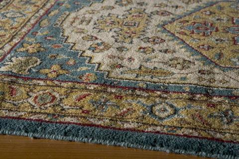 Momeni - Persian Garden Rug in Teal Blue - PG-03 TEAL BLUE