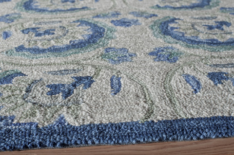 Momeni - Summit Rug in Blue - SUM17 BLUE
