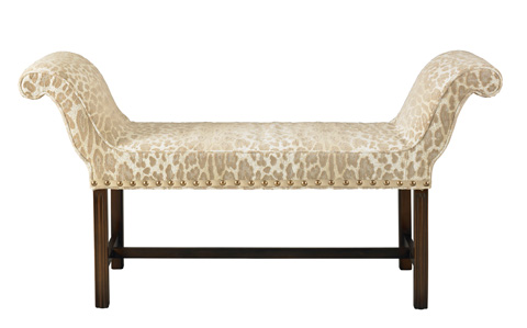 Mr. and Mrs. Howard by Sherrill Furniture - Dublin Window Seat - H214B