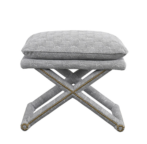 Mr. and Mrs. Howard by Sherrill Furniture - X-Leg Bench - H203B