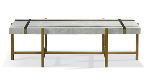 Mr. and Mrs. Howard by Sherrill Furniture - Mustique Cocktail Table - MH15311