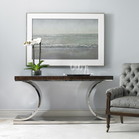 Mr. and Mrs. Howard by Sherrill Furniture - Cutting Edge Console - MH16332-91
