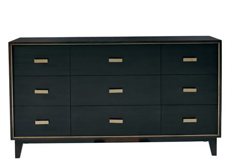 Mr. and Mrs. Howard by Sherrill Furniture - The Slab Dresser - MH18531-90