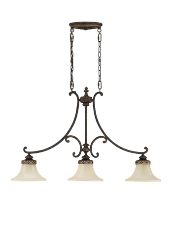 Feiss - Three - Light Island Chandelier - F2218/3WAL