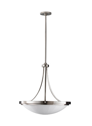 Feiss - Three - Light Uplight Chandelier - F2583/3BS