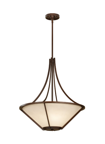 Feiss - Three - Light Uplight Chandelier - F2673/3HTBZ