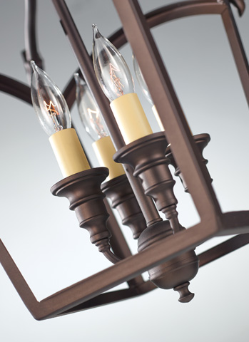 Feiss - Four - Light Hall Chandelier - F2801/4ORB