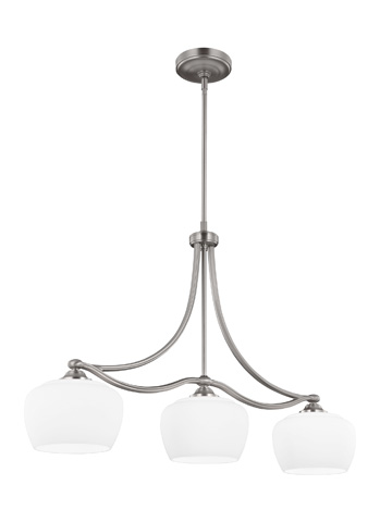 Feiss - Three - Light Island Chandelier - F2965/3SN