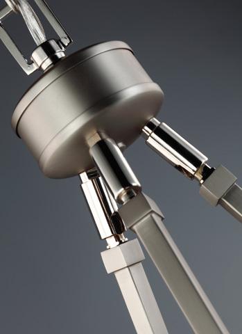 Feiss - Six - Light Chandelier - F3008/6SN/PN