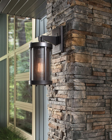 Feiss - One - Light Bluffton Outdoor Wall Sconce - OL12000ORB