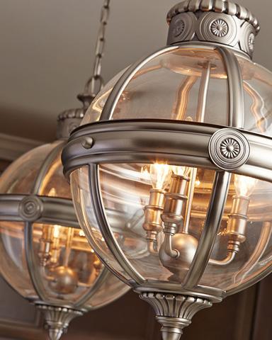 Feiss - Three - Light Adams Pendant - P1294ANL