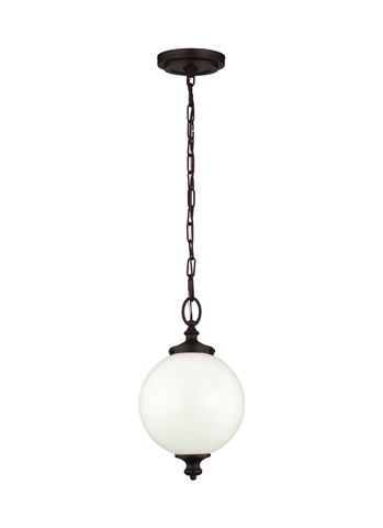 Feiss - One - Light Parkman Mini Pendant - P1296ORB